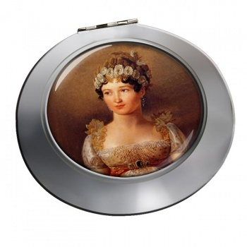 Caroline Bonaparte Chrome Mirror