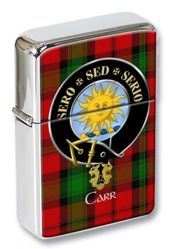 Carr Scottish Clan Flip Top Lighter