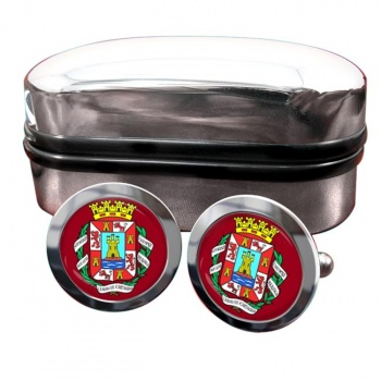Cartagena (Spain) Crest Cufflinks