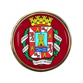 Cartagena (Spain) Round Pin Badge