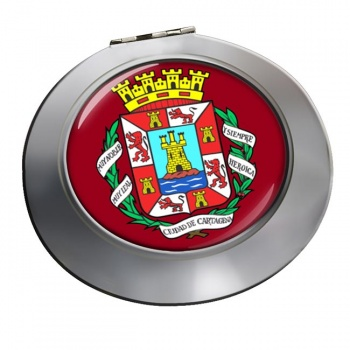 Cartagena (Spain) Round Mirror