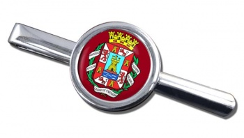 Cartagena (Spain) Round Tie Clip