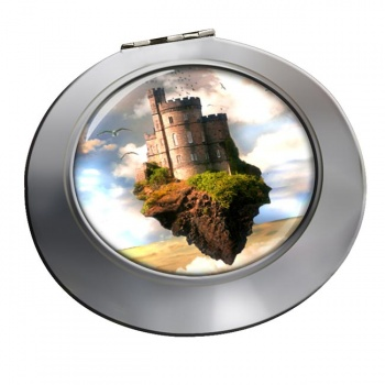Castles in the Air Chrome Mirror