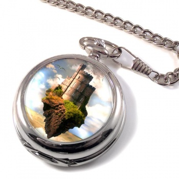 Castles in the Air Pocket Watch