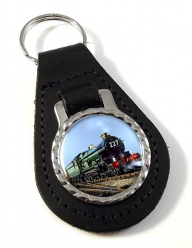 GWR Castle Class Leather Keyfob