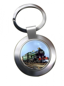 GWR Castle Class Chrome Key Ring