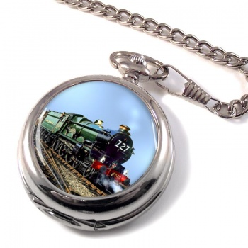 GWR Castle Class Pocket Watch