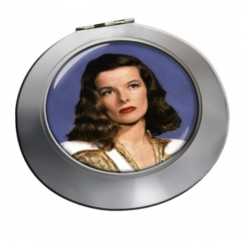 Katharine Hepburn Chrome Mirror