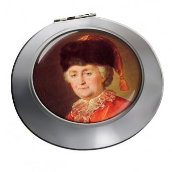 Catherine the Great Chrome Mirror