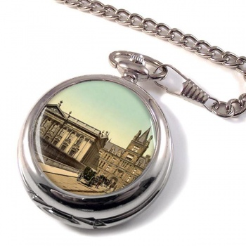 Caius College Cambridge Pocket Watch
