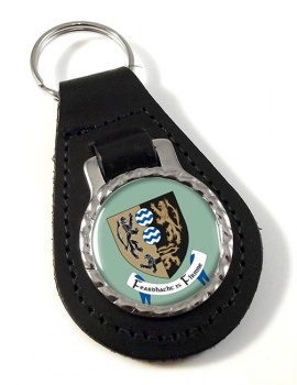 County Cavan (Ireland) Leather Key Fob