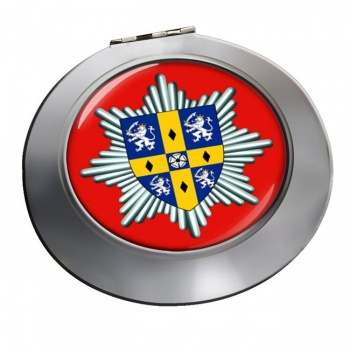 Co. Durham & Darlington Fire & Rescue Service Chrome Mirror