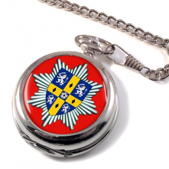 Co. Durham & Darlington Fire & Rescue Service Pocket Watch