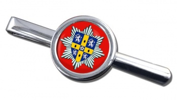 Co. Durham & Darlington Fire & Rescue Service Round Tie Clip