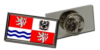 Central Bohemia Flag Pin Badge