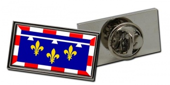 Centre-Val de Loire (France) Flag Pin Badge