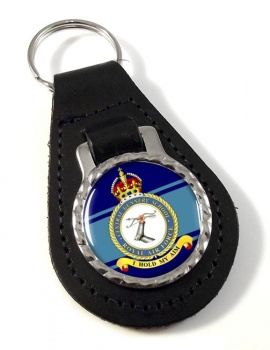 Central Gunnery School (Royal Air Force) Leather Key Fob