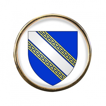 Champagne-Ardenne (France) Round Pin Badge