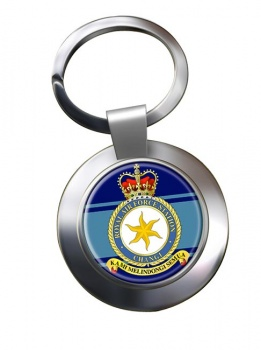 RAF Station Changi Chrome Key Ring
