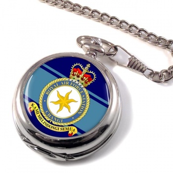 RAF Station Changi Pocket Watch