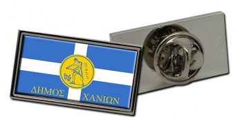 Chania (Greece) Flag Pin Badge