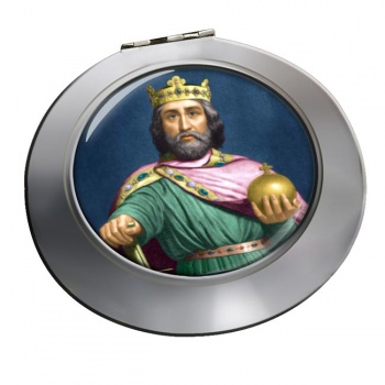 Charlemagne Chrome Mirror