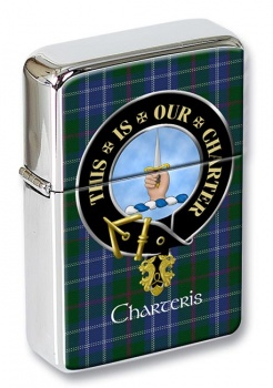 Charteris Scottish Clan Flip Top Lighter