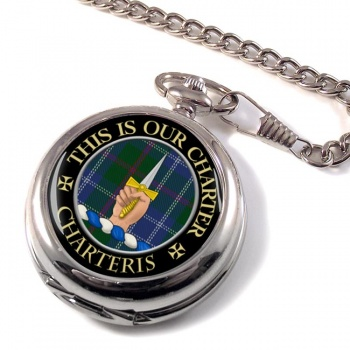 Charteris Scottish Clan Pocket Watch