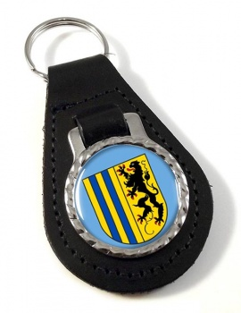 Chemnitz (Germany) Leather Key Fob