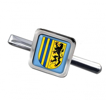 Chemnitz (Germany) Square Tie Clip