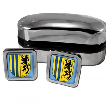 Chemnitz Germany Square Cufflinks