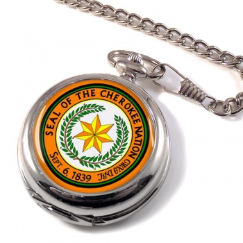 Cherokee Nation (Tribe) Pocket Watch