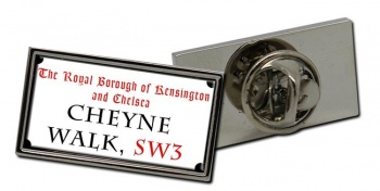 Cheyne Walk Rectangle Pin Badge