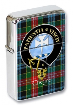Cheyne Scottish Clan Flip Top Lighter