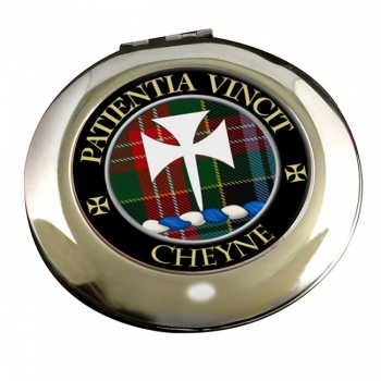 Cheyne Scottish Clan Chrome Mirror