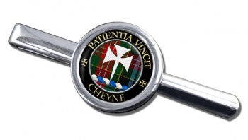 Cheyne Scottish Clan Round Tie Clip