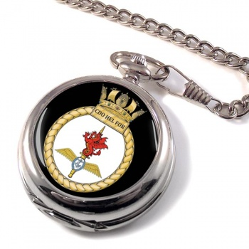 Commando Helicopter Force Royal Marines Pocket Watch