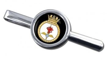Commando Helicopter Force Royal Marines Round Tie Clip