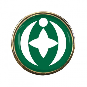 Chiba (Japan) Round Pin Badge