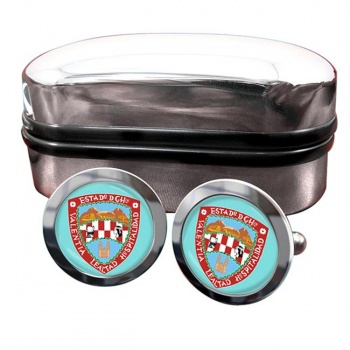 Chihuahua (Mexico) Crest Cufflinks