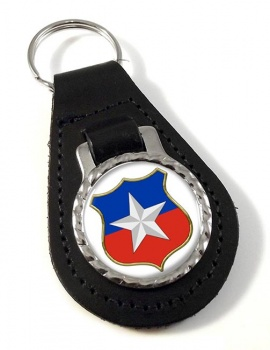 Chile Leather Key Fob