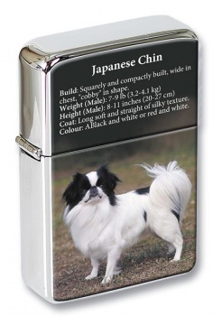 Japanese Chin Flip Top Lighter