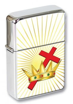 Chivalric Rite Masonic Order Flip Top Lighter
