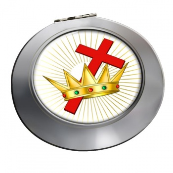 Chivalric Rite Masonic Order Chrome Mirror