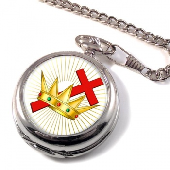 Chivalric Rite Masonic Order Pocket Watch