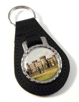Cholmondeley Castle Cheshire Leather Key Fob