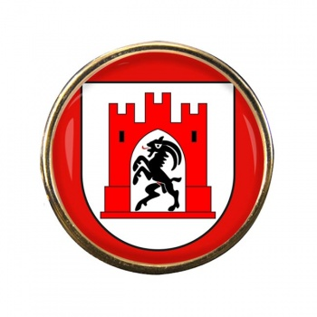 Chur (Switzerland) Round Pin Badge