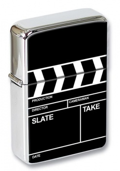 Clapperboard Flip Top Lighter