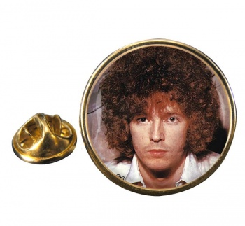Eric Clapton Round Pin Badge