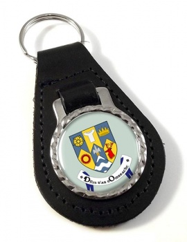 County Clare (Ireland) Leather Key Fob